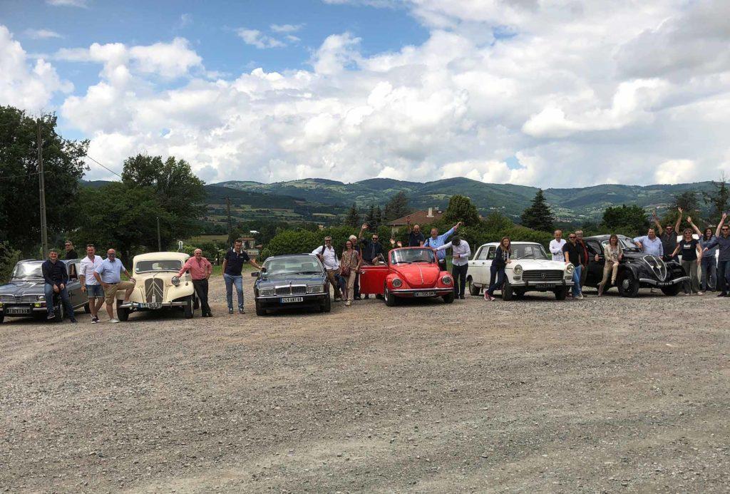 Rallye Team Building Voitures anciennes