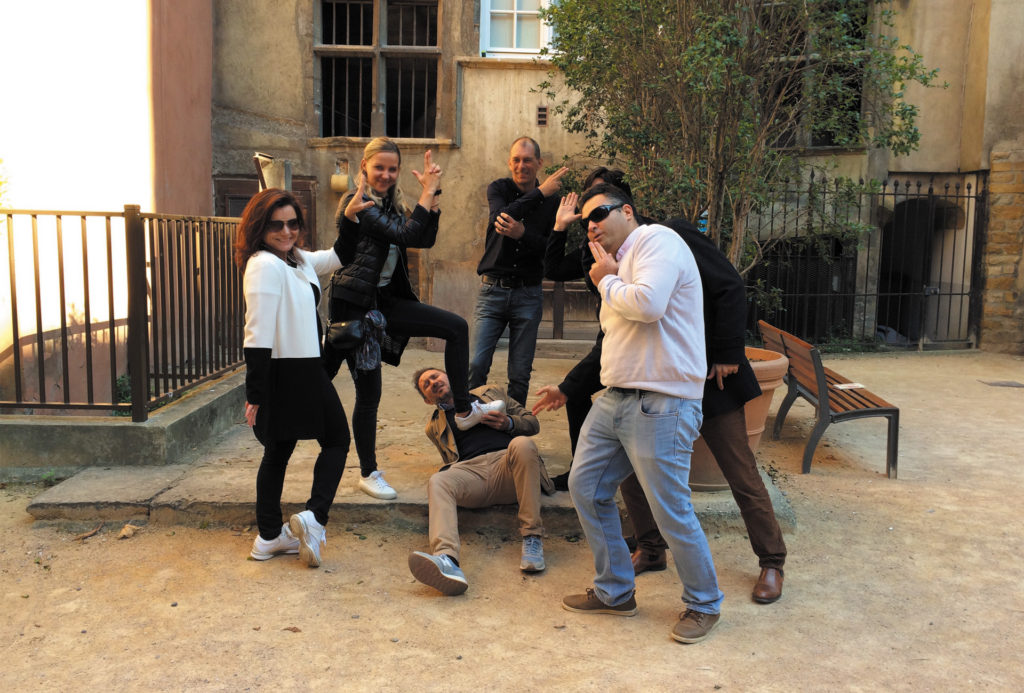 Teambuilding Lyon Polaroid
