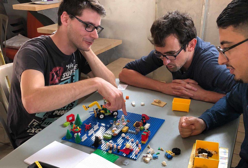 Team building Challenge Lego - créativité et communication