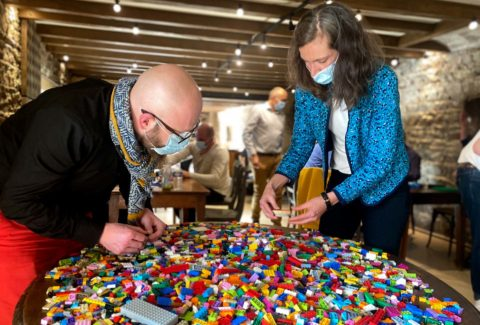 Team building atypique et ludique Challenge Lego - Esprit Libre Lyon