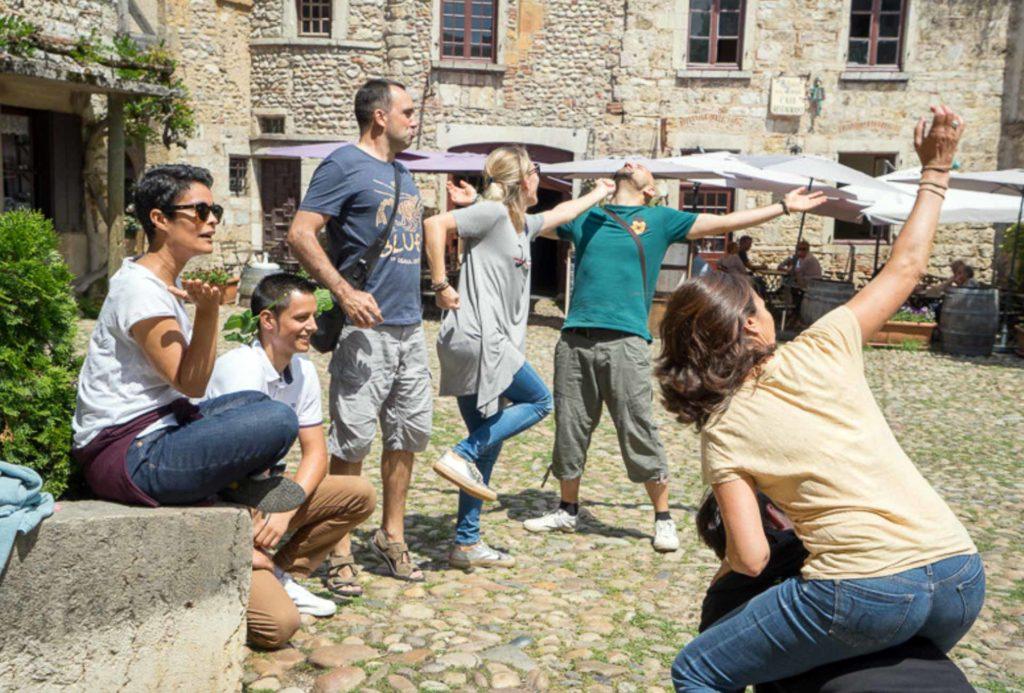 Team building à Pérouges Rhône Alpes - Esprit Libre Lyon