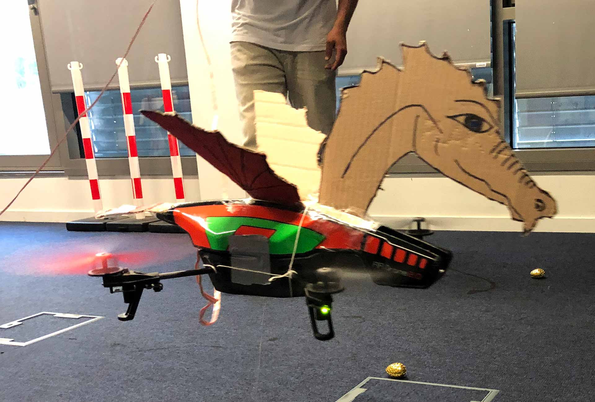 Team Building drones - Lyon : Game of Drones