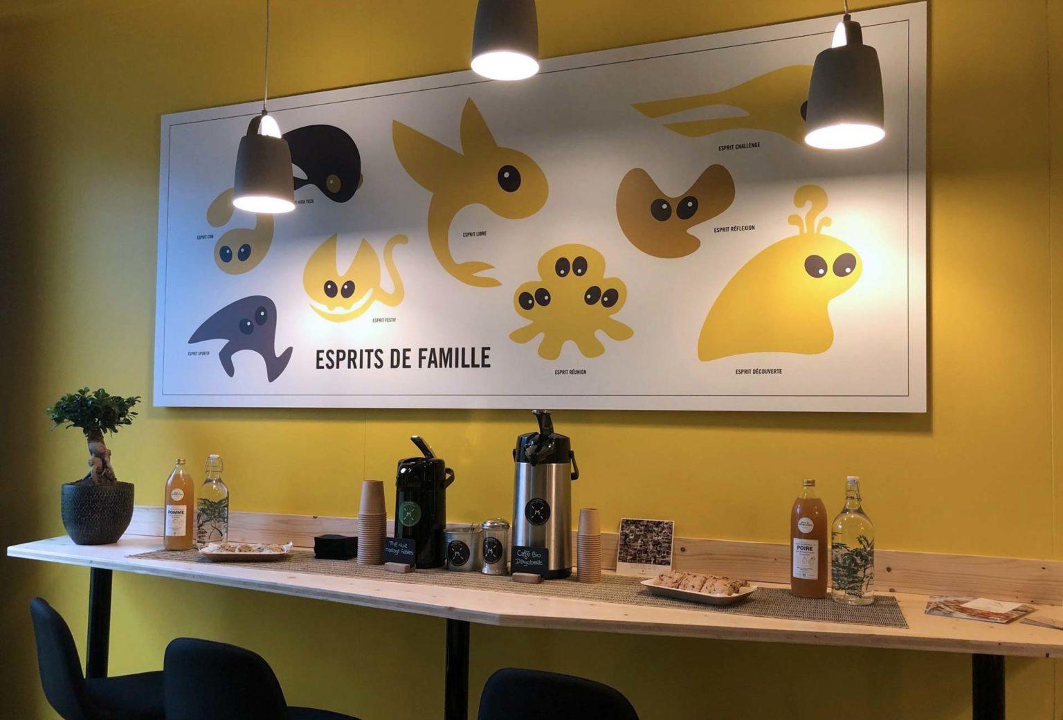 Esprit Libre Lieu - salle de réunion et buffet centre Lyon