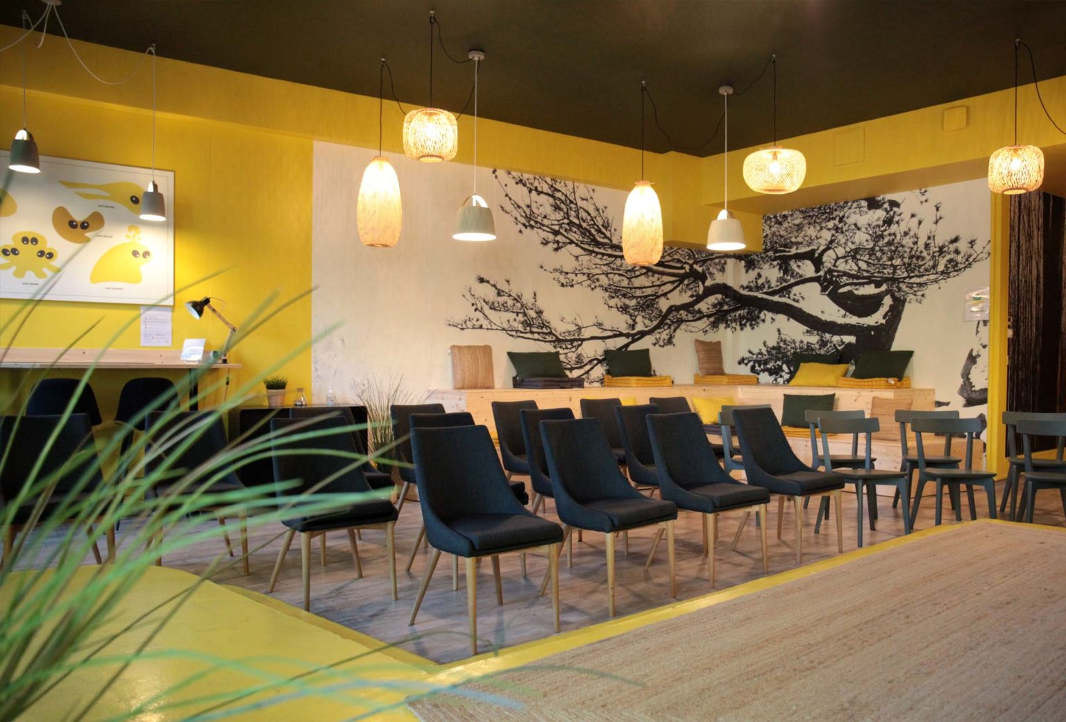 Salle de réunion et de séminaires centre Lyon configuration théâtre